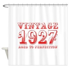 VINTAGE 1927 aged to perfection-red 400 Shower Cur