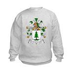 Grunewaldt Family Crest Kids Sweatshirt