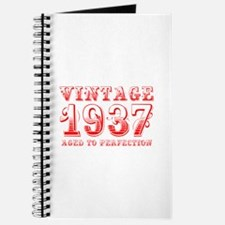 VINTAGE 1937 aged to perfection-red 400 Journal