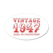 VINTAGE 1947 aged to perfection-red 400 Oval Car M