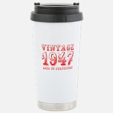 VINTAGE 1947 aged to perfection-red 400 Travel Mug