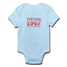 VINTAGE 1947 aged to perfection-red 400 Body Suit