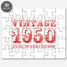 VINTAGE 1950 aged to perfection-red 400 Puzzle
