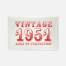 VINTAGE 1951 aged to perfection-red 400 Magnets