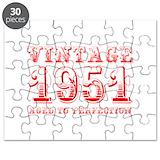 Vintage 1951 Puzzles