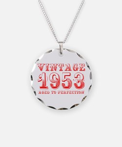 VINTAGE 1953 aged to perfection-red 400 Necklace