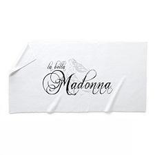 La Bella Madonna Beach Towel