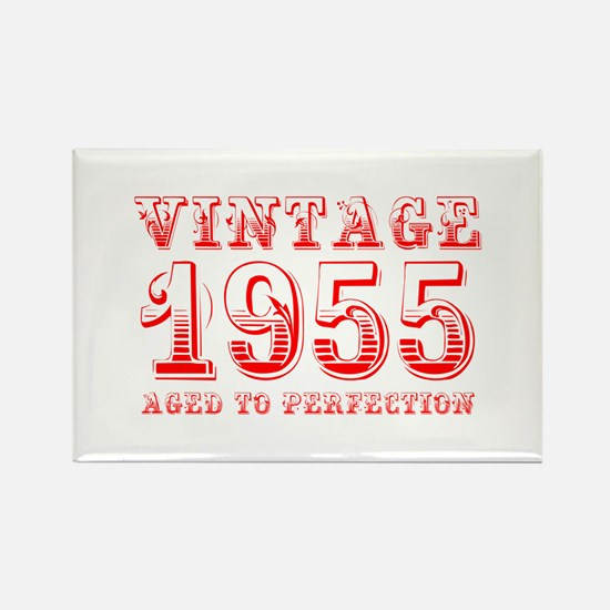 VINTAGE 1955 aged to perfection-red 400 Magnets