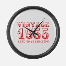 VINTAGE 1955 aged to perfection-red 400 Large Wall