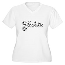 Yahir Classic Style Name Plus Size T-Shirt