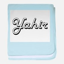 Yahir Classic Style Name baby blanket