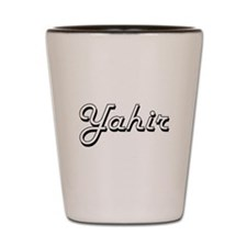 Yahir Classic Style Name Shot Glass
