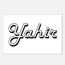 Yahir Classic Style Name Postcards (Package of 8)