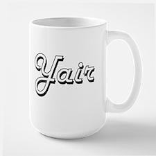 Yair Classic Style Name Mugs