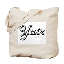 Yair Classic Style Name Tote Bag