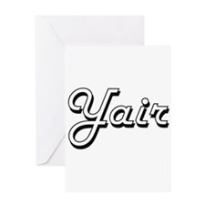 Yair Classic Style Name Greeting Cards