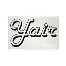 Yair Classic Style Name Magnets