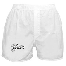 Yair Classic Style Name Boxer Shorts