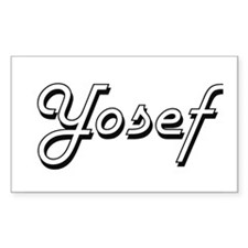 Yosef Classic Style Name Decal