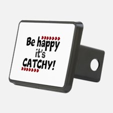 BE HAPPY Positive Thinking Quote Hitch Cover