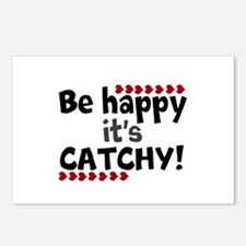 BE HAPPY Positive Thinking Quote Postcards (Packag
