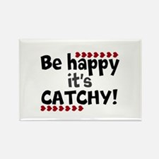 BE HAPPY Positive Thinking Quote Magnets