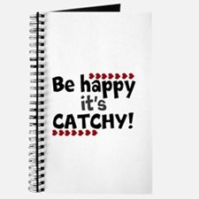 BE HAPPY Positive Thinking Quote Journal