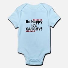 BE HAPPY Positive Thinking Quote Body Suit