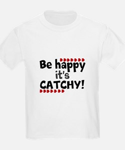 BE HAPPY Positive Thinking Quote T-Shirt