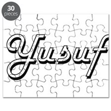 Yusuf Classic Style Name Puzzle