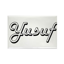 Yusuf Classic Style Name Magnets