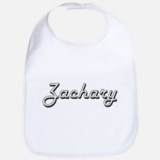 Zachary Classic Style Name Bib