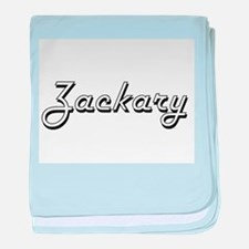 Zackary Classic Style Name baby blanket