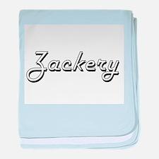 Zackery Classic Style Name baby blanket
