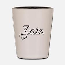 Zain Classic Style Name Shot Glass