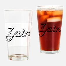 Zain Classic Style Name Drinking Glass