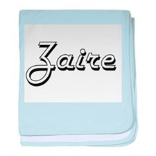 Zaire Classic Style Name baby blanket