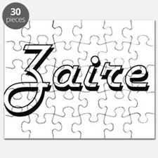 Zaire Classic Style Name Puzzle