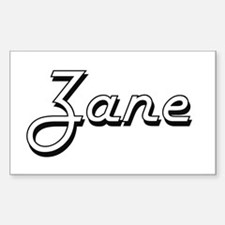 Zane Classic Style Name Decal