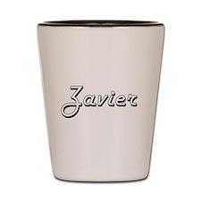 Zavier Classic Style Name Shot Glass