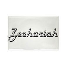 Zechariah Classic Style Name Magnets