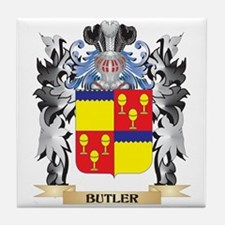 Butler Coat of Arms - Family Crest Tile Coaster