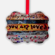 mothers day collage Ornament