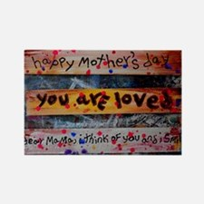 mothers day collage Rectangle Magnet