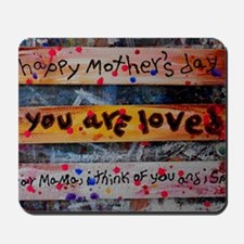 mothers day collage Mousepad