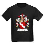 Greiner Family Crest Kids Dark T-Shirt