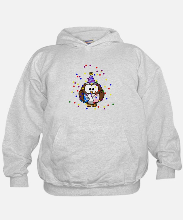 Party Owl Confetti Hoodie