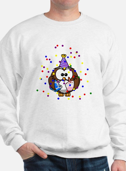 Party Owl Confetti Sweatshirt