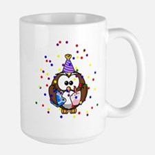 Party Owl Confetti Mugs