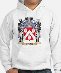 Byrne Coat of Arms - Family Cres Hoodie